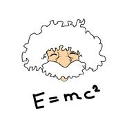 Einstein Stock Illustration