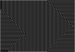 Black geometry Stock Illustration