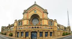 alexandra palace - stock photo