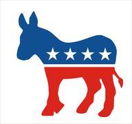 Democratic Stock Illustration