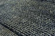 Rosetta stone Stock Photos