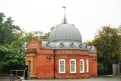 greenwich observatory - stock photo