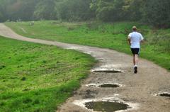 Jogging Stock Photos
