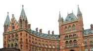 St. pancras railway station Stock Photos