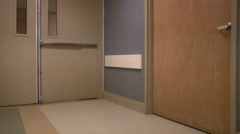 Medical Center Halls Time Lapse ED Stock Footage