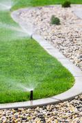 Sprinklers - stock photo