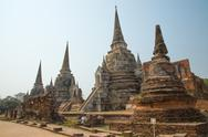Stock Photo of watphrasisanpetch from ayutthaya,thailand