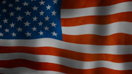 Stock Video Footage of american flag wavey in the wind, Stars and stripes HD