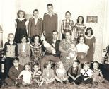 Stock Photo of 1950s Family Portrait Grandchildren