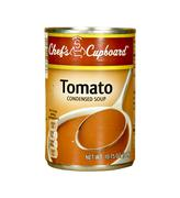 can of chef's cupboard tomato soup - stock photo