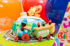 Fairy cake Stock Photos