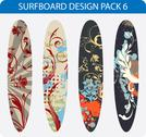 Stock Illustration of Surfboard designs