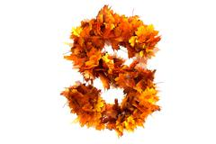 Fall  alphabet letter S Stock Illustration