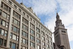 Stock Photo of Terminal Tower, Cleveland, Ohio