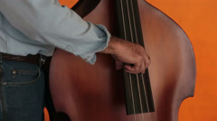 Blue Grass music Bass Fiddle HD 1912 Stock Footage