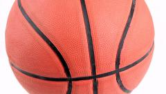 basketball rotating - stock footage