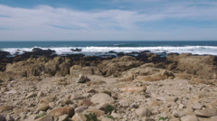 Rocks of Point Joe Stock Footage