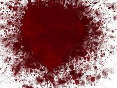 Stock Illustration of blood splash
