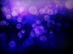 abstract floating bokeh background - stock illustration