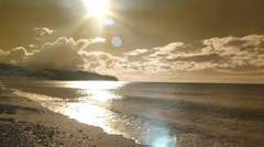 Gentle Surf, Calm Water Stock Footage