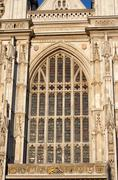 Westminster abbey london detail Stock Photos