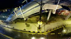 Rainy Night - stock footage