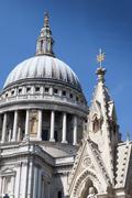 St Pauls cathedrale - stock photo