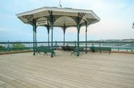 Stock Photo of Gazebo, Dufferin Terrace, Quebec City