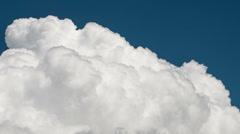 Cumulus Closeup Stock Footage