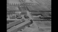 Stock Video Footage of WW2 - German Concentration Camp Dachau - Overview 01
