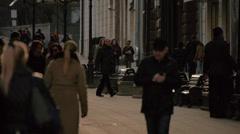 Pedestrian area 3 Stock Footage
