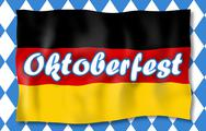 Stock Illustration of bavaria oktoberfest festival fresh design blue color
