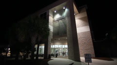 Orange County Jail Orlando FL Stock Footage