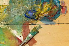 Art of Painting - stock photo