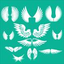 Stock Illustration of Wings Vector Digital Clipart