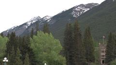 Banff - Alberta - Canada - HD Stock Footage