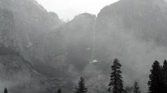 Yosemite Falls Time Lapse Stock Footage