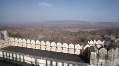 Old Fortress. India. Radzhastan.Udaypur Stock Footage