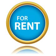 For rent tag Stock Illustration
