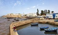Stock Photo of essaouira, morocco-august, 27: essaouira harbor, morocco, august 27, 2011.