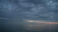 Calm on a seashore Stock Footage