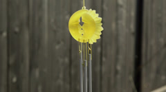 chinese wind chimes outdoor - stock footage