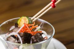Mushroom appetizer Stock Photos