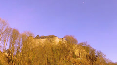 Castle of the Dukes of Jülich (13th century). Stock Footage