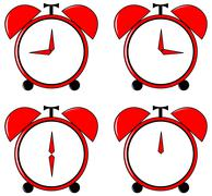 Alarm clock Stock Illustration