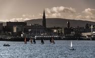 Stock Photo of bray harbour