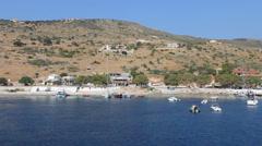 Agios Nikolaos Port - Zakynthos Stock Footage