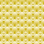 Seamless background of circles Stock Illustration