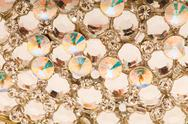 Stock Photo of Close up of colourful background with many beads