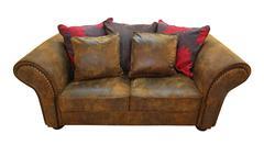 Stock Photo of leather sofa